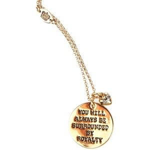 "Juicy Couture Jewelry - Juicy couture ""surrounded by royalty"" necklace"